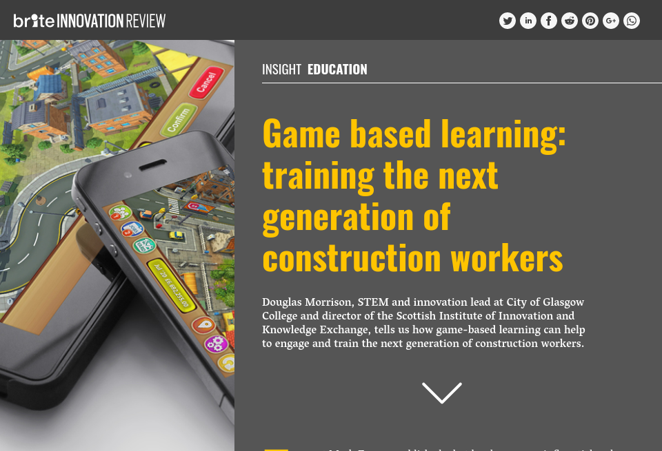 Game Based Learning Training The Next Generation Of